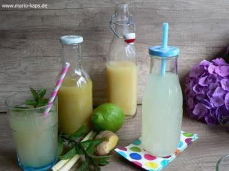 Zwei Sorten Limonade