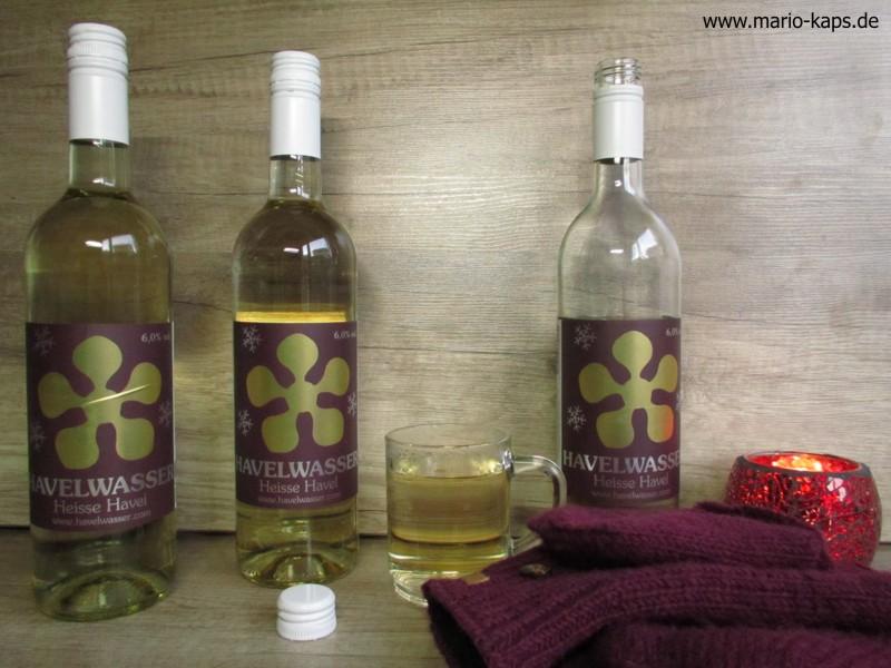 Havelwasser Weisse Havel weiß - Weinmischgetränk zum heißen Verzehr