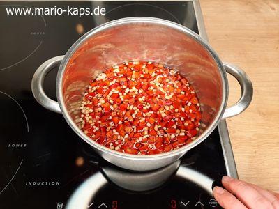 Sweet Chili Sauce - Saucen-Ansatz mit Paprika, Ingwer und Knoblauch