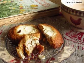 Cream Cheese Cookies und eine Tasse Kaffee - Glück, was willst du mehr?
