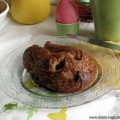 Ein knusprig fluffiges Plunder Osterhäschen