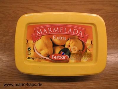 Marmelada - schnittfeste, portugiesische Fruchtzubereitung aus Quitten