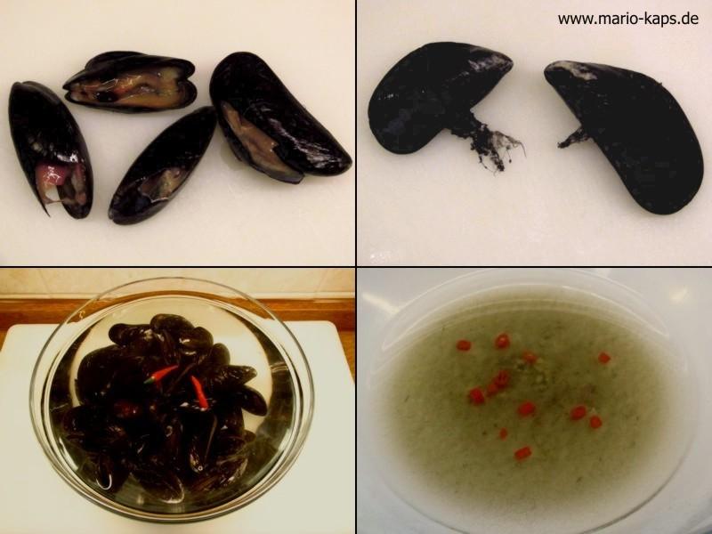 Küchenhandwerk: Miesmuscheln küchenfertig vorbereiten - Beitragsbild