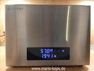 Schweinefilet Sous Vide - Sous Vide-Temperatur 57,0 Grad